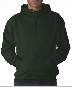 Hooded Sweatshirt :: Unisex Pull Over Hoodie (Forest Green)<!-- Click to Enlarge-->