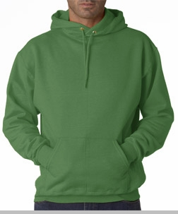 Hooded Sweatshirt :: Unisex Pull Over Hoodie (Kelly Green)<!-- Click to Enlarge-->