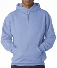 Hooded Sweatshirt :: Unisex Pull Over Hoodie (Light Blue)
