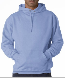 Hooded Sweatshirt :: Unisex Pull Over Hoodie (Light Blue)<!-- Click to Enlarge-->