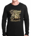 Hot Babes and Cold Beer Biker Thermal Shirt