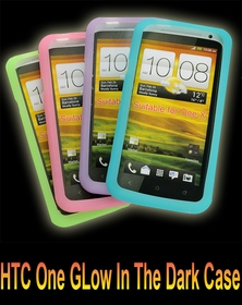 HTC One X Glow In The Dark (And The Black Light) Phone Case