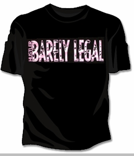 Hustler Barely Legal T-Shirt <!-- Click to Enlarge-->