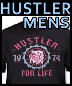 HUSTLER Mens T-Shirts & More