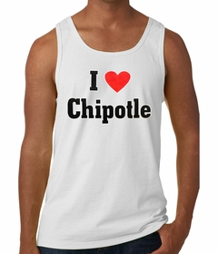 I Love Chipotle Tank Top
