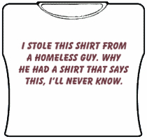 I Stole This.... Girls T-Shirt