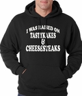I Was Raised on TastyKakes and Cheesesteaks Adult Hoodie
