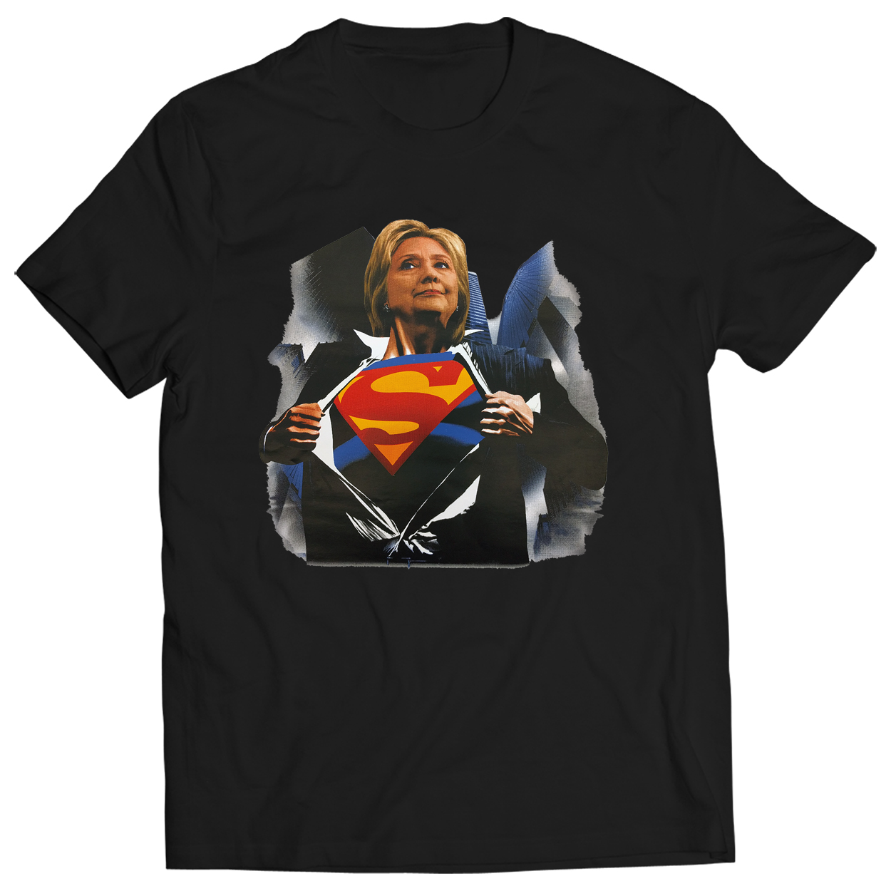 Super Hillary Election 2016 Mens T-shirt