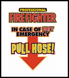 In Case Of Emergency Pull Hose T-Shirt