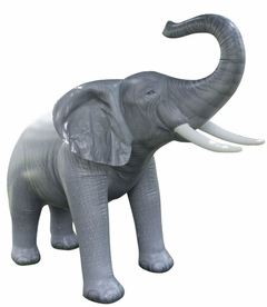 Incredible Lifelike Inflatable Elephant (84 Inches Long)