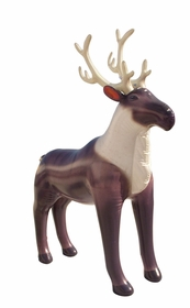 Incredible Lifelike Inflatable Reindeer (84 Inches Long)