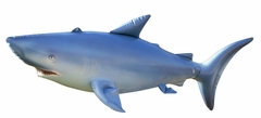 Incredible Lifelike Inflatable Shark (84 Inches Long)