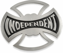 Independent Iron Cross Belt Buckle With FREE Leather Belt