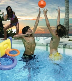 Inflatable Pool Basketball Game