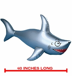 Inflatable Shark - 40 Inches Long!