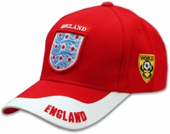 International Baseball Hats - England Lion Shield World Cup Hat