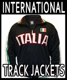 International  Soccer Track Jackets