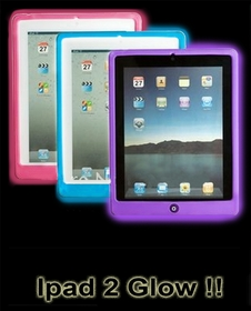 iPad2 Glow in the Dark Case (iGlow) Glow in the Dark Skin & Wrap