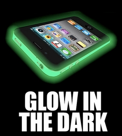 Iphone 4 Case (Glow in The Dark) iPhone Case for the iPhone 4 and 4S