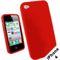 iPhone 4 Case - Silicone Protective Case for iPhone 4 and 4S