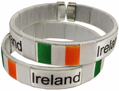 Ireland International Flag Cuff Bracelet