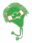 Irish Shamrock Mohawk Knit Hat