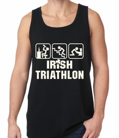 Irish Triathlon Funny St. Patrick's Day Tank Top
