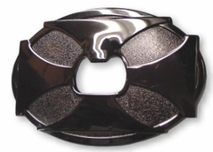 Iron Cross Bottle Opener Belt Buckle with FREE Belt