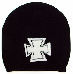 Iron Cross Fitted Skull Cap