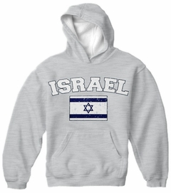 Israel Vintage Flag International Mens Hoodie
