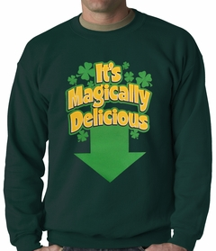It's Magically Delicious Irish Shamrock Crewneck