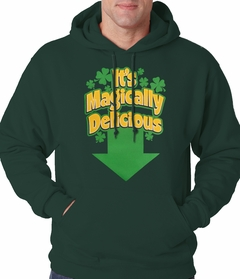 It's Magically Delicious Irish Shamrock Hoodie