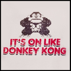 It's On Like Donkey Kong T-Shirt :: Vintage Gamer Tee