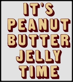It's Peanut Butter Jelly Time T-Shirt :: Hit Viral Video & Family Guy