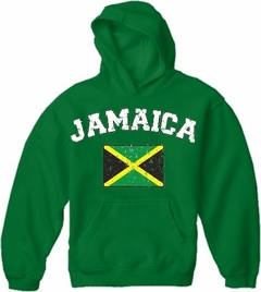 Jamaica Vintage Flag International Hoodie