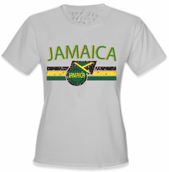 Jamaica Vintage Shield International Girls T-Shirt