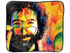 Official Jerry Garcia Grateful Dead Coral Fleece Throw Blanket (50 x 60 Inches)