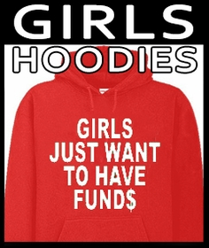 Just For Girls Hoodies