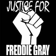 Justice For Freddy Gray Baltimore Protest Mens T-shirt