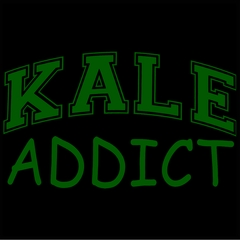 Kale Addict Mens T-shirt