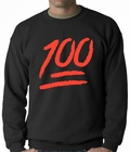 Keep It 100 Adult Crewneck