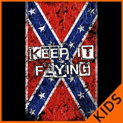Keep It Flying Confederate Flag Kids T-shirt