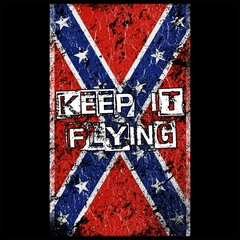 Keep It Flying Confederate Flag Mens T-shirt