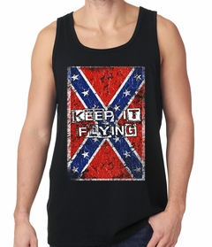 Keep It Flying Confederate Flag Tank Top