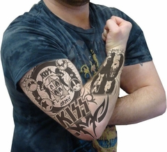Kiss Army Authentic Tattoo Sleeves