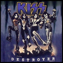 Kiss Tshirt - Kiss Destroyer Tie Dye T-Shirt