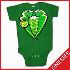 Kiss Me I'm Irish Infant Onesie