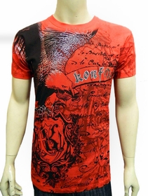 Konflic Soaring  Eagle T-Shirt (Red)