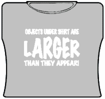 Larger Than They Appear Girls T-Shirt