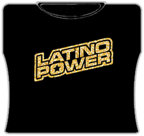 Latino Power Girls T-Shirt